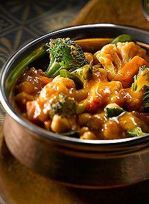 Shrimp & Veggie Tikka Masala