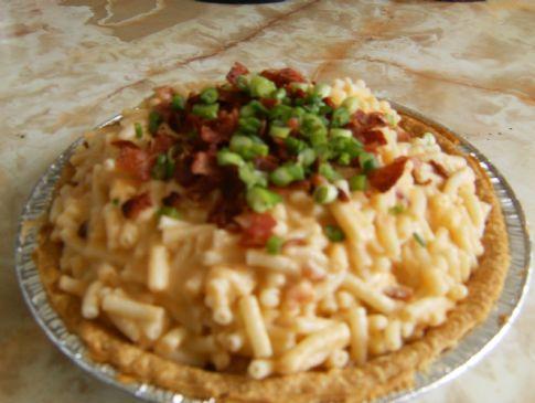 Macaroni, Cheese & Bacon Pie