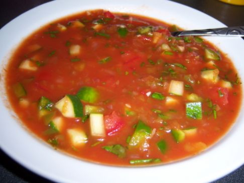 Mexican Gazpacho (Cold soup)