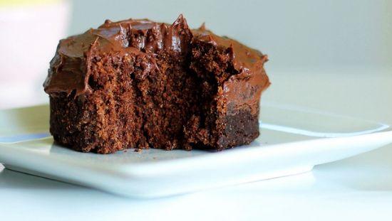 One-Minute Chocolate Cake