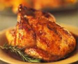 Baked Cinnamon Cornish Hen