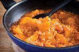 Butternut squash and tomato risotto