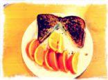Turkey Egg Sandwich on French Toast
