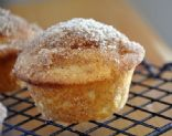 Velvet Lava Cinnamon Sugar Muffins