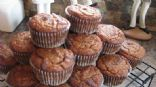 Banana walnut raisin (gluten & sugar free) muffins