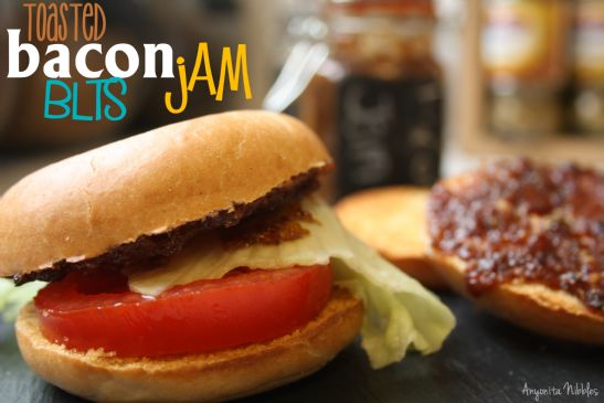 Toasted Bacon Jam BLTs