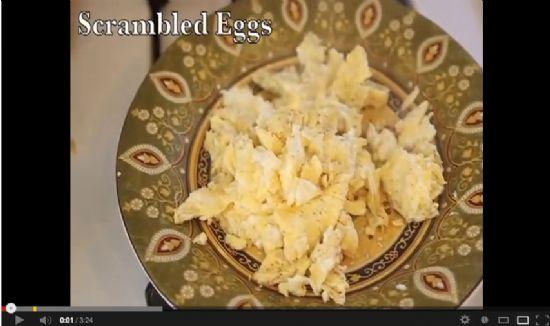 Buttery Scrambled Eggs