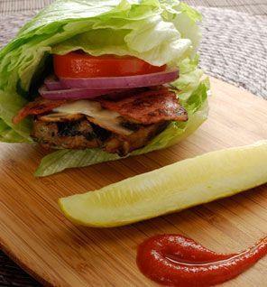 Chicken Chipotle Burgers With Bibb Lettuce Buns Recipe