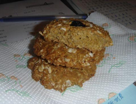 Healthier Oatmeal Raisin Cookies