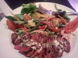 Sapporo New York Strip Steak Salad (No Cheese, Dressing or Potatoes)