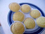 corn muffin mix with apple sauce