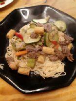 Asian beef vegetable