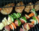 Yummy Grilled Chicken & Veggies