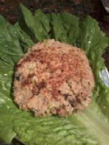 Tuna Fish Burger patties