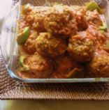Herbed Ground Turkey Meatballs (Variation of Persian Koofteh)