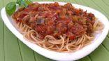 Super Fresh Homemade Italian Eggplant Spaghetti Sauce