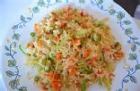 Vegetable Fried Rice for One