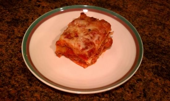 Ground Turkey & Chicken Sausage Lasagna