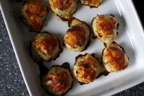 Baked Chicken Meatball
