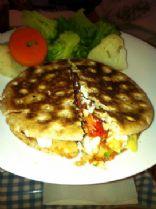 Vegetarian Mediterranean Panini