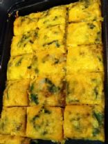 Southwest Spinach Egg Bake