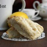 Lemon Cream Scones (OnSugarMountain.com)