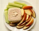 PB and J Greek yogurt dip