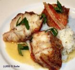 Saute Poached Red Snapper