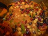 Vegetarian Indonesian Curried Bean Stew