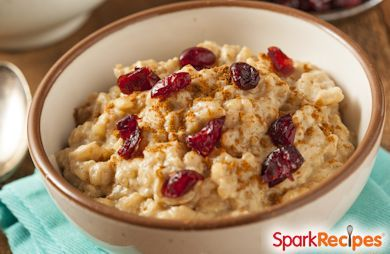 Orange Cranberry Slow Cooker Oatmeal
