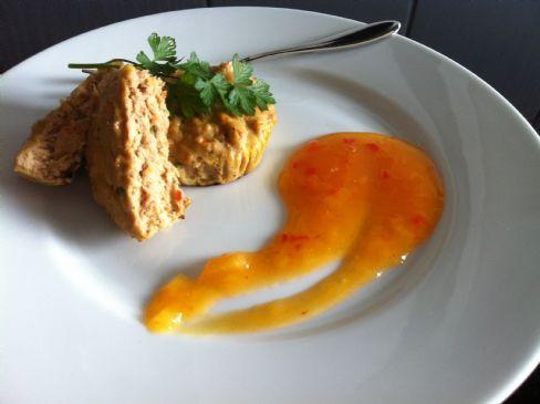 Healthy tuna tarts