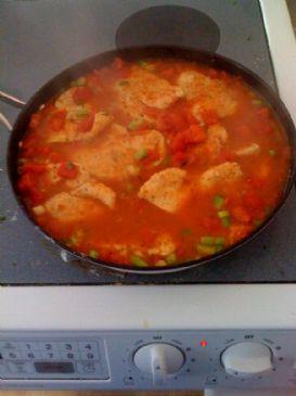 Saucy Chicken