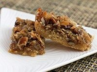 Maple Pecan Oatmeal Bars