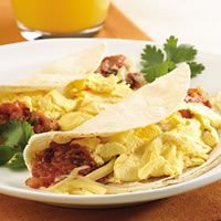 Quick Breakfast Taco Recipe