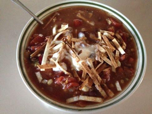 Taco Soup, Crockpot