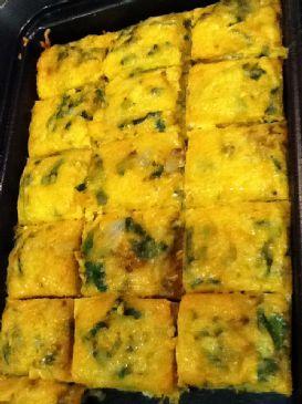 Southwest Spinach Egg Bake
