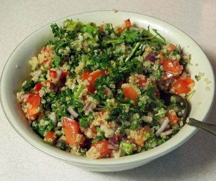 Quinoa Parsley Tabouleh