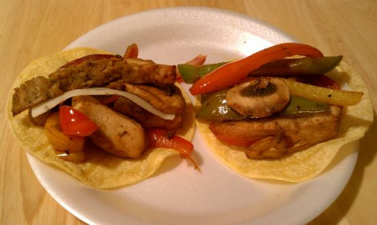 Dana's Reduced Fat Chipotle Chicken Fajitas