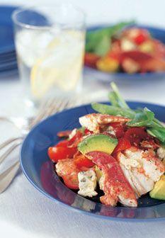 Caribbean Lobster Salad