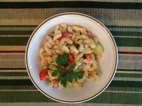 Light Garden Fresh Macaroni salad