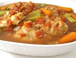Easy Peesy, Skinny Crock Pot Chicken