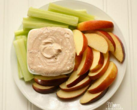PB and J Greek yogurt dip