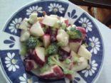 Apple & Broccoli Salad