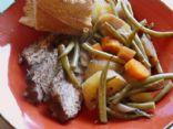 Slowcooker Cabernet Pot Roast