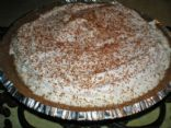 White Chocolate Hazelnut Pie