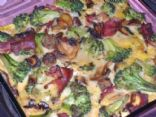 Turkey and Veggie Breakfast Squares