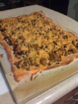 Best Ground Turkey Taco Pizza