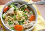 Healthy Homemade Chicken Noodle Soup