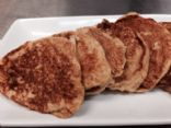 Whole wheat low calories pancakes