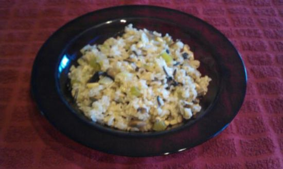 Brown & Wild Rice Pilaf